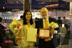 Mats Harbon - Honorary Award 2017 | Viktoria Chan - Young Professional of the Year 2017
